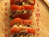 Hasselback Tomatoes with Feta Cheese