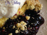 Homemade Blueberry Pie Filling