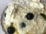Individual Lemon Blueberry Trifle