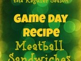 Meatball Sandwiches-Game Day Recipe
