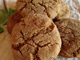 Old Fashioned Gingersnap Cookies