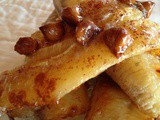 Oven Roasted Bananas with Cinnamon Chips