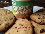 Pistachio Cranberry Ginger Cookies