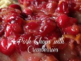 Pork Chops with Cranberries