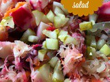 Russian Beet Salad-Try a Russian Favorite