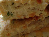 Savory Herb Goat Cheese, Cheddar and Scallion Scones