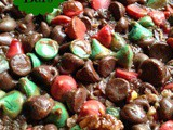 Seven Layer Bars-Yuletide Layer Bars