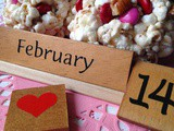 Valentine Candy Popcorn Balls or Bars