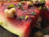 Watermelon with Balsamic Reduction