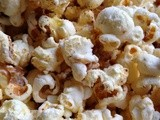 White Cheddar Cheese Chili Popcorn