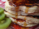 Yogurt Apple Pancakes