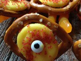 Zombie {Chocolate Pretzel} Eyes