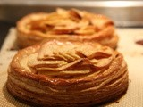 Apple Tart with Goat Cheese