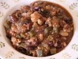 Black Bean Tomatillo Chili: Thank you Romero of El Teddy's
