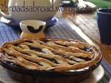 Blueberry Pie with Ricotta Cream