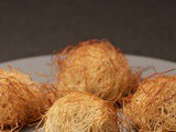 Chicken Croquettes Wrapped in Shredded Fillo