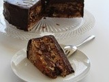 Chocolate Walnut Cake