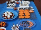 Halloween Cake Pops and Mummy Marshmallows