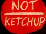Not Ketchup Blueberry and White Pepper