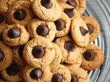 Peanut Butter Cookies with Chocolate Kiss