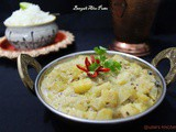 Bengali Aloo Posto ( Bengali Potato recipe with Poppy seed)