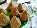 Mewa Modak with Dry Coconut Stuffing