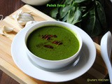 Palak Chaas Soup (Spinach Buttermilk Soup)
