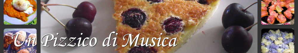 Very Good Recipes - Un Pizzico di Musica
