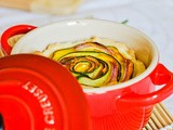 Mini spiral tarts in cocotte