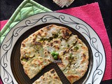 Matar ka paratha/Stuffed Green peas paratha (No Onion No Garlic)