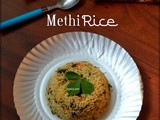Methi Rice/Vendhaya Keerai Sadam