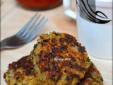Mung sprouts aloo tikki /Mung bean Potato Cutlet (No Onion No Garlic)