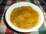 Mango pachidi /sweet and sour mango curry/maangai pachidi