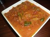 Pumpkin and capsicum curry