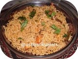 Tomato vegetable pulav
