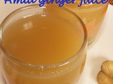 Amla ginger juice i Amla ginger sarbath