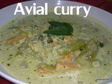 Avial curry recipe