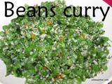 Beans curry i Beans palya recipe
