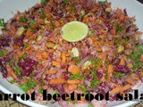 Carrot Beetroot salad i vegetable salad