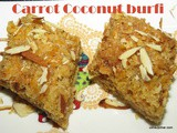 Carrot Coconut Barfi
