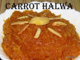 Carrot Halwa with kova