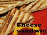 Cheese grilled sandwich recipe