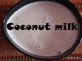 Coconutmilk recipe i To make or to prepare coconut milk