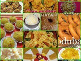 Collection of Diwali Sweets and snacks recipes