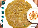 Dapati i Masala roti with mixed flours i Thalipeeth Recipe
