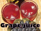 Grape squash i Grape juice i Black Grape squash