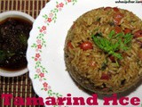 Huli chitranna recipe i Tamarind rice
