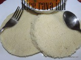 Idli with Rice Rava i Rice Rava Idli