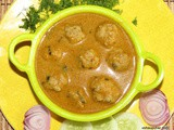 Meatball Curry i Mutton Keema Balls curry i Kaima Saaru