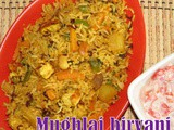 Mughalai vegetable Biryani Recipe